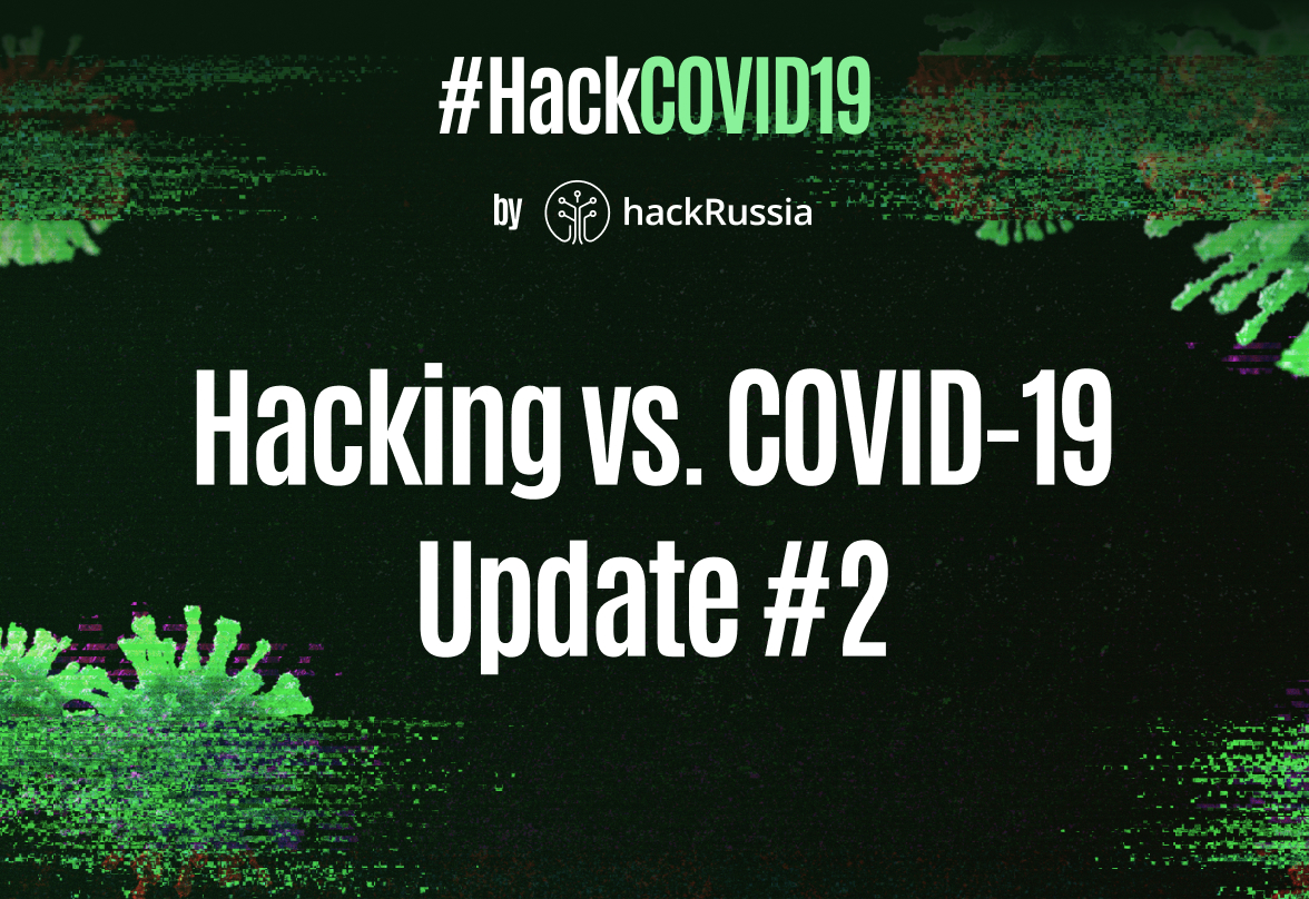 Hacking vs. COVID-19: Update #2